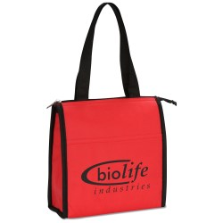 View a larger, more detailed picture of the Comfy Shoulder Kooler Tote