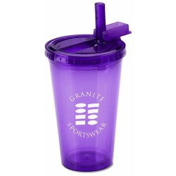 View a larger, more detailed picture of the Spirit Sport Tumbler - 16 oz - 24 hr