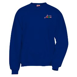 View a larger, more detailed picture of the Jerzees Nublend Super Sweats Crew