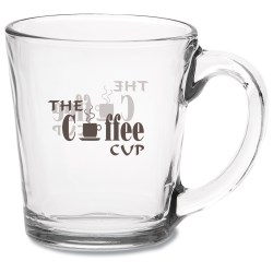 View a larger, more detailed picture of the Glass Mug - 13-1 2 oz - 24 hr