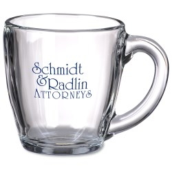 View a larger, more detailed picture of the Tapered Glass Mug - 16 oz - 24 hr