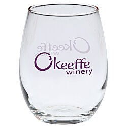 View a larger, more detailed picture of the Stemless Wine Glass - 15 oz - 24 hr