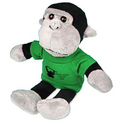 View a larger, more detailed picture of the Mascot Beanie Animal - Gorilla - 24 hr