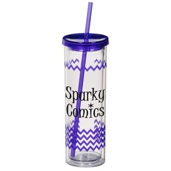 View a larger, more detailed picture of the Color Scheme Montara Spirit Tumbler - 16 oz- Chevron - 24 hr