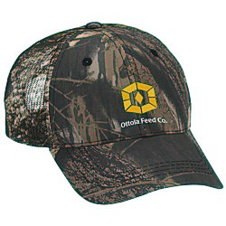 View a larger, more detailed picture of the Outdoor Cap Mesh Camo Hat - Mossy Oak Breakup