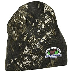View a larger, more detailed picture of the Kati Camo Knit Beanie - Mossy Oak Breakup