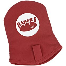 View a larger, more detailed picture of the Easy-On Oven Mitt w Grip