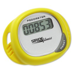 View a larger, more detailed picture of the Simple Shoe Pedometer