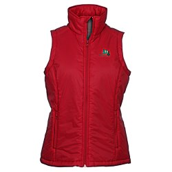 View a larger, more detailed picture of the Harriton Insulated Vest - Ladies 