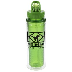 View a larger, more detailed picture of the Cool Gear Ledge Sport Bottle - 20 oz