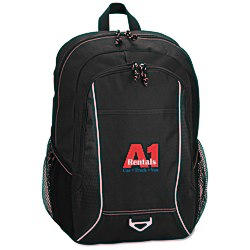 View a larger, more detailed picture of the Atlas Laptop Backpack - Embroidered