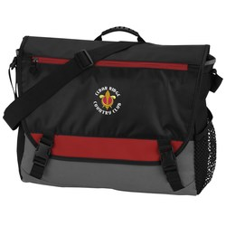 View a larger, more detailed picture of the Intensity Laptop Messenger - Embroidered