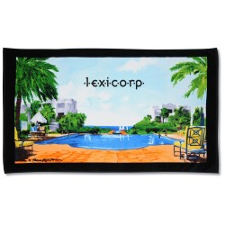 View a larger, more detailed picture of the The Good Life Beach Towel - 35 x 60 - Closeout