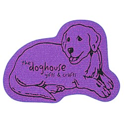 View a larger, more detailed picture of the Cushioned Jar Opener - Dog