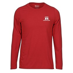View a larger, more detailed picture of the Gildan Performance Long Sleeve Tee - Men s