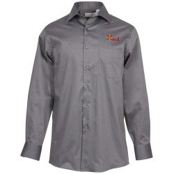 View a larger, more detailed picture of the Van Heusen Sateen Stretch Shirt - Men s