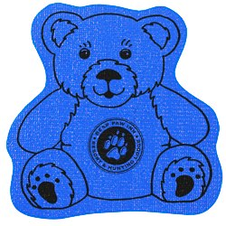 View a larger, more detailed picture of the Cushioned Jar Opener - Teddy Bear