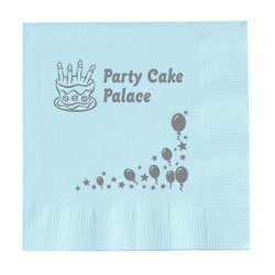 View a larger, more detailed picture of the Colorware Beverage Napkin - 2-ply - Color - Celebrate