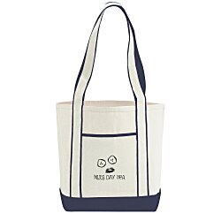 View a larger, more detailed picture of the Top Sail Cotton Boat Tote