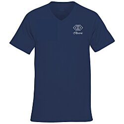 View a larger, more detailed picture of the Fruit of the Loom HD V-Neck T-Shirt Men s - Screen - Colors