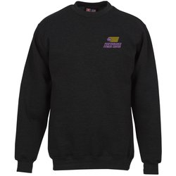View a larger, more detailed picture of the Bayside USA Made Crewneck Sweatshirt - Embroidery