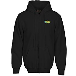 View a larger, more detailed picture of the Bayside USA Made Full Zip Hoodie