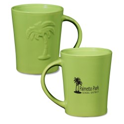 View a larger, more detailed picture of the Palm Ceramic Mug - 12 oz - 24 hr