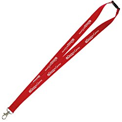 View a larger, more detailed picture of the Lanyard w Metal Lobster Clip - 3 4 - 24 hr