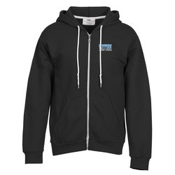 View a larger, more detailed picture of the Anvil Fashion Full Zip Hoodie - Men s