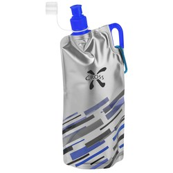 View a larger, more detailed picture of the Flatout Brights Foldable Sport Bottle - 30 oz - 24 hr