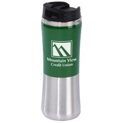 View a larger, more detailed picture of the Laguna Fusion Travel Tumbler - 14 oz - 24 hr