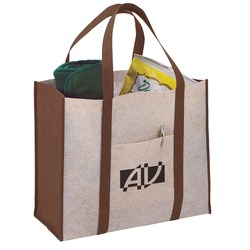 View a larger, more detailed picture of the Oversized Jute Blend Boat Tote - Closeout