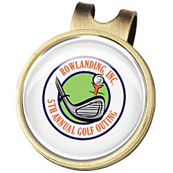 View a larger, more detailed picture of the Ball Marker Hat Clip