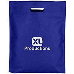 View a larger, more detailed picture of the Heat Seal Exhibition Tote - 16-1 2 x 13