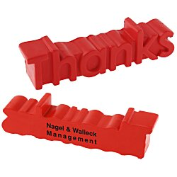 View a larger, more detailed picture of the Thanks Word Stress Reliever