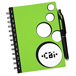View a larger, more detailed picture of the Bubbly Notebook w Stylus Pen