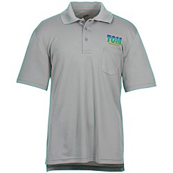 View a larger, more detailed picture of the Cool-N-Dry Sport Pocket Polo - Men s