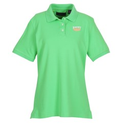 View a larger, more detailed picture of the UltraClub Classic Platinum Polo - Ladies