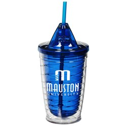 View a larger, more detailed picture of the Cool Gear Wave Tumbler - 16 oz - 24 hr