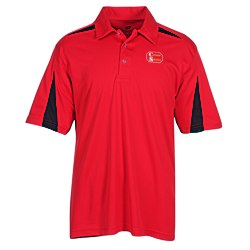 View a larger, more detailed picture of the Cool-N-Dry Mesh Accent Sport Polo