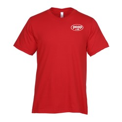 View a larger, more detailed picture of the Bayside USA Made Jersey Tee - Men s - Colors