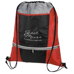 View a larger, more detailed picture of the Zip N Go Drawstring Sportpack