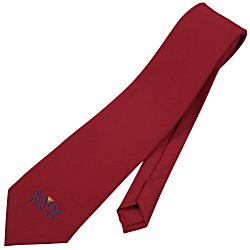 View a larger, more detailed picture of the Solid Polyester Tie