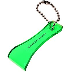 View a larger, more detailed picture of the Lottery Scratcher Key Tag - Translucent