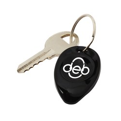 View a larger, more detailed picture of the Tear Drop Lottery Scratcher Key Tag - Opaque