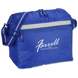 View a larger, more detailed picture of the Messenger Cooler Bag - Closeout