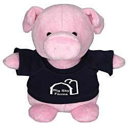 View a larger, more detailed picture of the Bean Bag Buddy - Pig