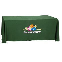 View a larger, more detailed picture of the Convertible Table Throw - 4 to 6 - Heat Transfer