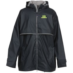 View a larger, more detailed picture of the New Englander Rain Jacket - Men s - Embr -Closeout Color