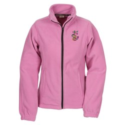 View a larger, more detailed picture of the Heavy Plush Microfleece Jacket - Ladies